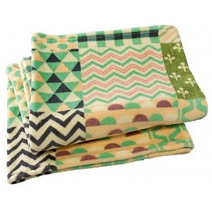 [Time Concept]담요_Quilt Check Blanket-Green