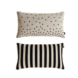 [OYOY]LUNA CUSHION-쿠션(White & Black)
